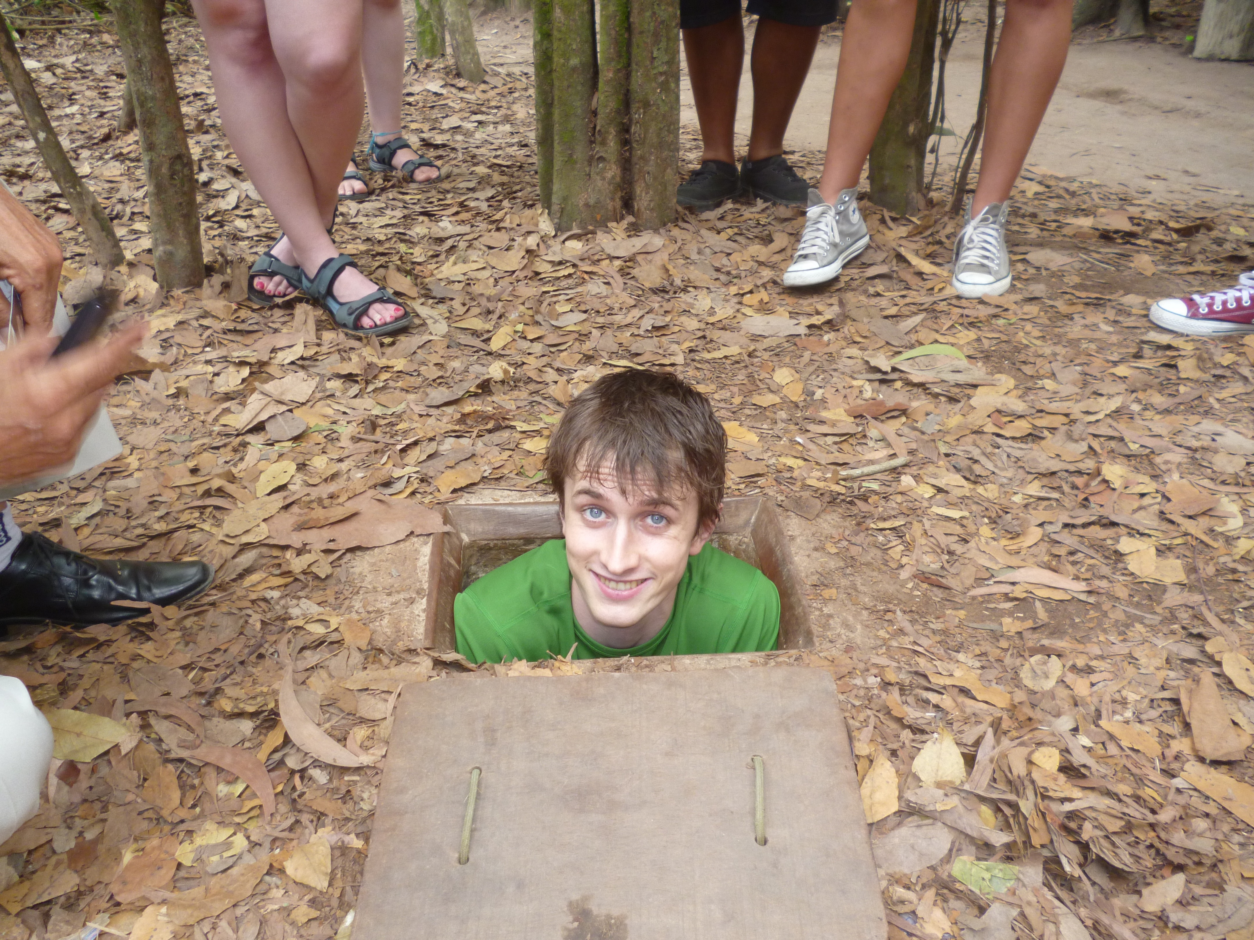 Cu Chi Tunnels Trap Door
